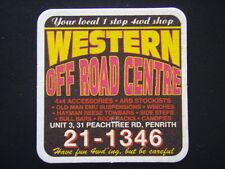 WESTERN OFF ROAD CENTRE UNIT 3, 31 PEACHTREE RD PENRITH 211346 COASTER