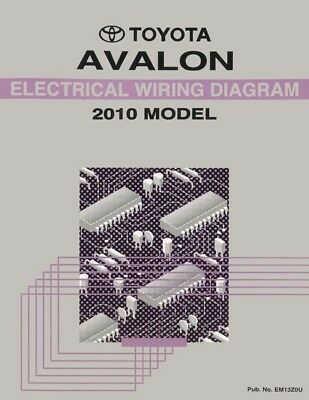 2010 Toyota Avalon Wiring Diagrams Schematics Layout Factory OEM | eBayeBay