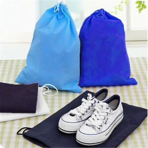 Home Laundry Shoe Travel Portable Pouch Drawstring Tote Storage Bag Organizer Storage Bags