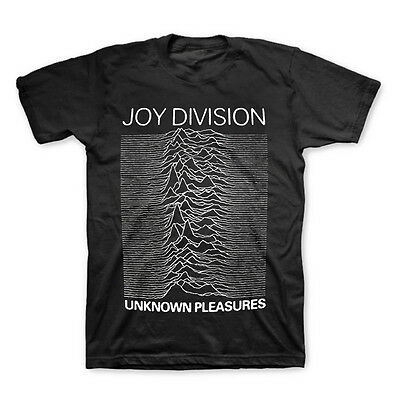 JOY DIVISION Unknown Pleasures OFFICIALLY LICENSED T-Shirt New S M L XL XXL