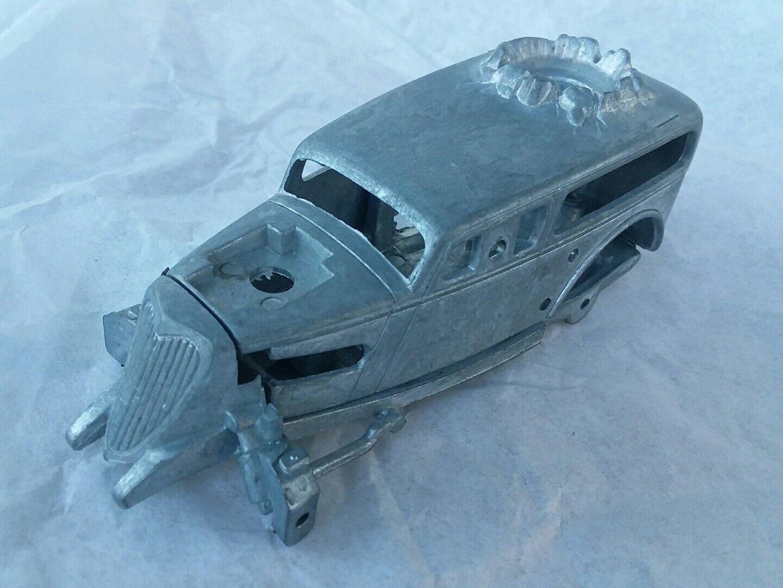 Hot wheels radikale reitet pre-production prototyp nichtversponnenen chassis & basis hard top