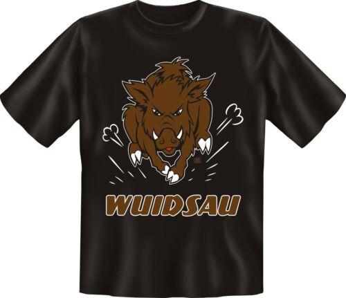 T-Shirt Wuidsau Porc Sanglier Fun Shirts Anniversaire Cadeau Sympa Imprimé