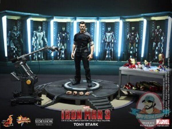 1 6 Escala De Marvel Iron Man 3 Tony Estrellak figura de acción de Hot Juguetes Usado
