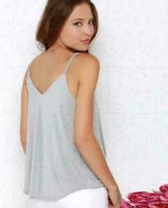 New-Women-Tank-Top-T-Shirt-Deep-V-Bandage-Shirt-Fashion-Sexy-Tops-Sling-Blouse