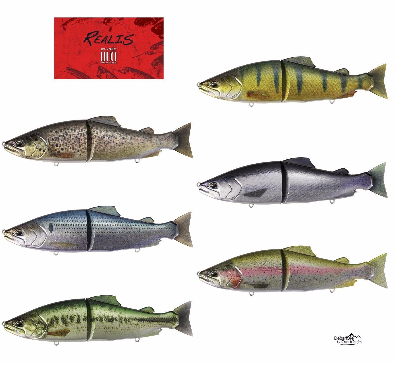 Duo Realis Onimasu Sinre  Swimbait Glide Bait JDM Bass Fishing Lure
