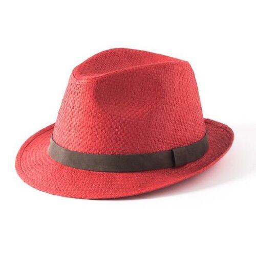 Naturale//Rosso//SAGE//tabacco Failsworth Estate Cappello di paglia Borsalino