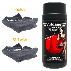 Vulcanet-80-Lingettes-de-nettoyage-avec-Microfibre-Une-2eme-Microfibre-offerte
