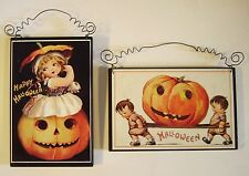 Wholesale - 10 Retro HALLOWEEN Die Cut Out Vintage Style Postcard Reproduction