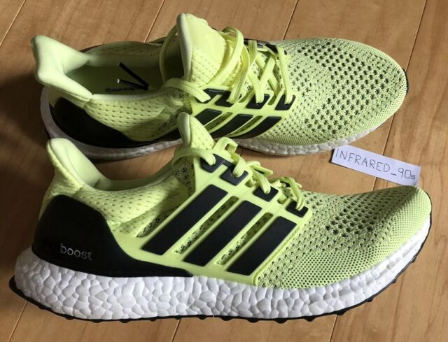 new product fb150 8f672 NEW Adidas Ultra Boost 1.0 Womens 10 Mens 9 Frozen Yellow OG Running Yeezy
