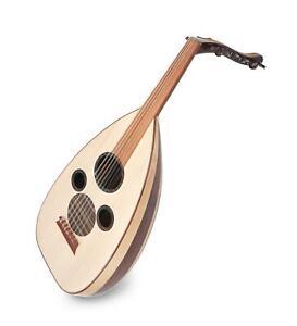 Arabische Oud Ud Laute Lavta Türkei 12 String Fretless Handarbeit Mahagoni Ahorn