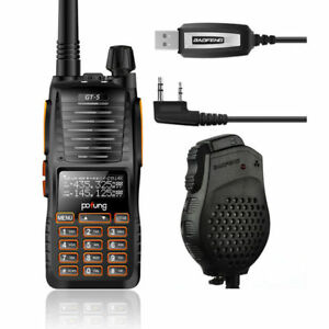 IT-Baofeng-Pofung-GT-5-Cable-Speaker-Walkie-Talkie-Dula-Band-Radio-Emisora