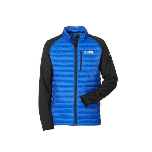 Genuine Yamaha Paddock Bleu Hybride Veste Homme 2020 manteau polaire ski