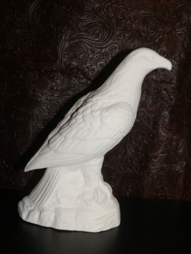 Unpainted Bisque Ceramic Bisque Eagle U-Paint Ready to Paint