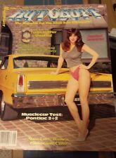 New Uncirculated August 1984 #14 Autobuff Car Magazine Nova Camaro Chevelle