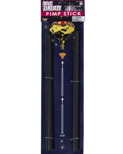 Big Daddy Pimp Stick 125cm One Size
