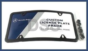 Image Is Loading New Genuine Mercedes Curved Front Slim Line License