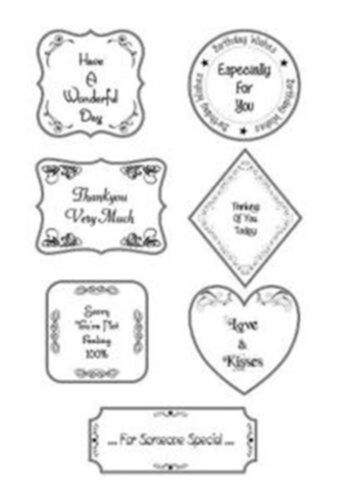 Creative Expressions Sentimentally Yours Stamps Set Phill Martin FREE UK P/&P