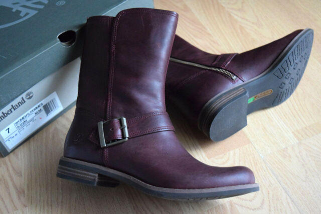 7fd641d77e5 Timberland Savin Hill mid 37,5 A122M Ladies Ankle Boots Side-Zip Chelsea