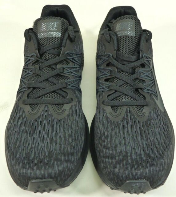the best attitude 1fa3c 98254 Nike Zoom Winflo 5 Mens Aa7406-002 Black Anthracite Mesh Running Shoes Size  8