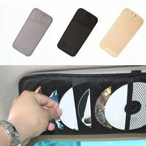 Ideal-CD-Sleeves-Wallet-CD-DVD-Carry-Case-Disc-Storage-Holder-For-In-Car