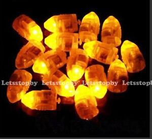 24-LED-Yellow-Balloon-Paper-Lantern-Light-Wedding-Christmas-Floral-Decoration
