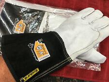 Superior Endura 399GKGL5 Goatskin Leather Welding Gloves  Stick//TIG XL