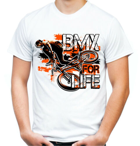 BMX for Life T-ShirtVTT Freestyle Vélo Cyclisme Sport Extrême