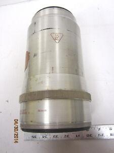 Vintage-Bausch-amp-Lomb-Jumbo-Anamorphic-Cine-Projector-Lens-4-034-Dameter