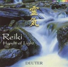 DEUTER CD - REIKI HANDS OF LIGHT (2002) - NEW UNOPENED
