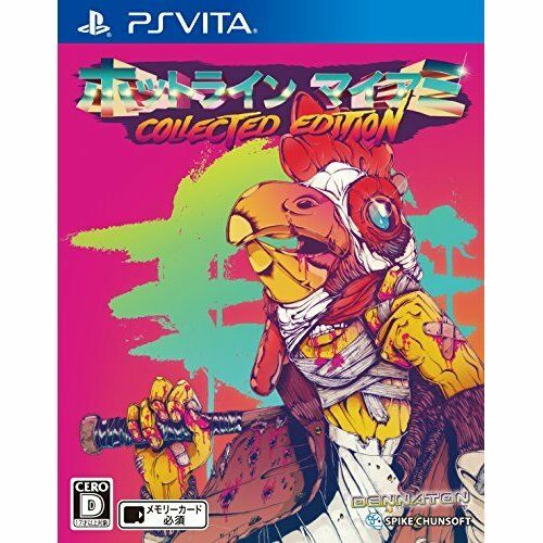 Very Good PS PS PS Vita Hotline Miami Collected Edition Import Japan c67c2e
