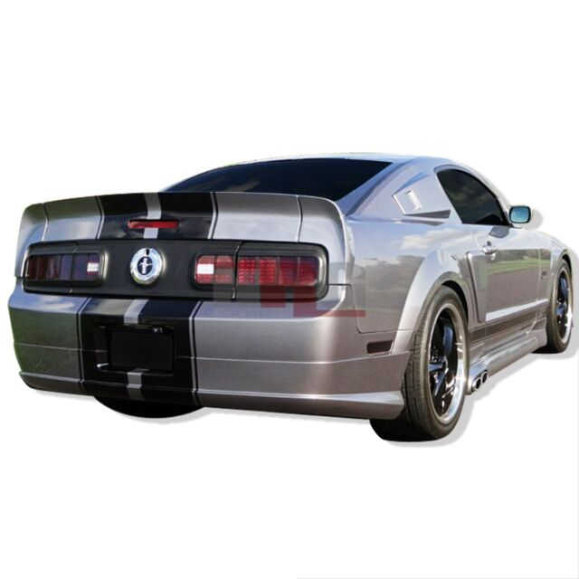 for Mustang 05-09 Ford CC Style Poly Fiberglass body kit Rear Wing Spioler 3pc