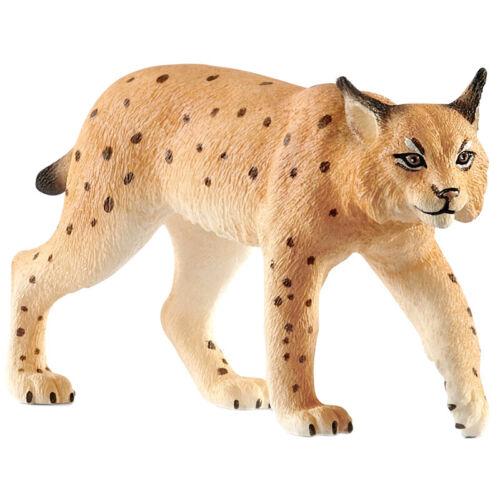 14822 Schleich Wild Life Lynx figura animale-Altezza 5cm