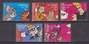 NVPH-Nederland-Netherlands-nr-1994-1998-used-vijf-maal-Cartoons-2001-Pays-Bas