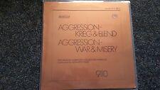 Gerhard Trede - Aggression Krieg & Elend/ War & Misery Vinyl LP Selected Sound