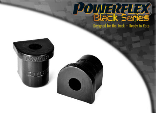 PFF85-213BLK Powerflex Front Wishbone Rear Bushes BLACK Series 2 in Box