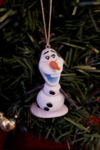 DISNEY FROZEN OLAF THE ADORABLE SNOWMAN CUSTOM CHRISTMAS ORNAMENT NEW