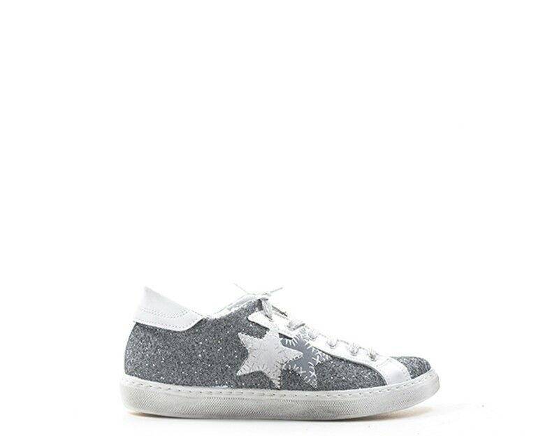 zapatos 2 STAR mujer zapatillas Trendy  gris Glitter 2SD1865 2SD1865 2SD1865  buena calidad