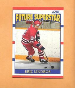 HOCKEY-CARDS-90-91-SCORE-ERIC-LINDROS-ROOKIE-CARD-440