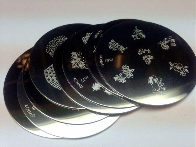 Konad Stamping Nail Art Image Plates M1-M59 ** PICK ONE **