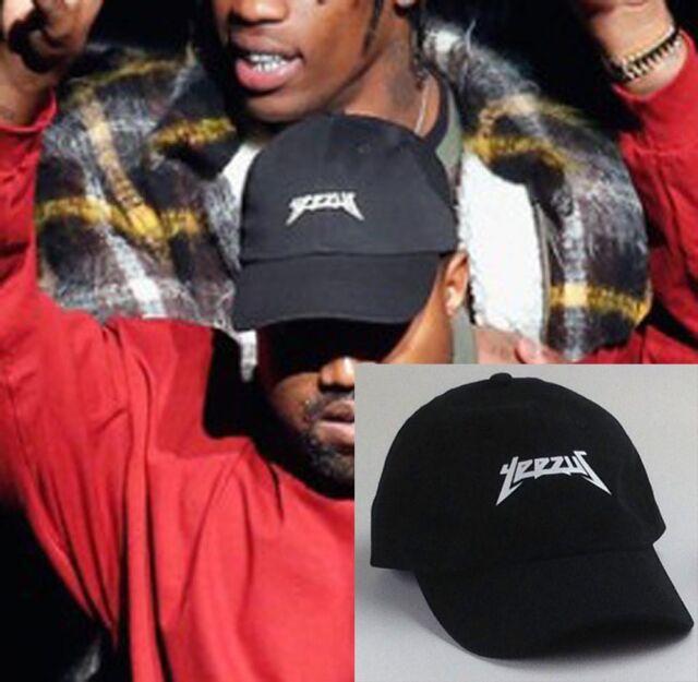 Buy Yeezus Hat Cap Unstructured Cap Yeezy Tour Kanye West Cap Black online   017fb70a0c4