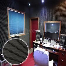 6Pc 16''x12''x0.7'' Wedge Acoustic Studio Foam Sponge Soundproofing Wall Tile US