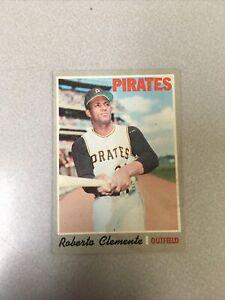 1970 Topps Roberto Clemente Pittsburgh Pirates #350 Baseball Card
