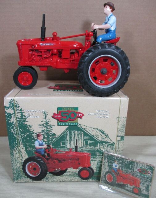 Farm Tractor Glass Figurine Tractor figurine Farm equipment