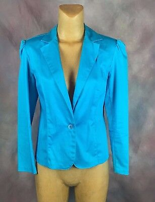 Women's Clothing Clothing, Shoes & Accessories Delicious Women's Dressbarn Blue Career Blazer Jackets Size Small