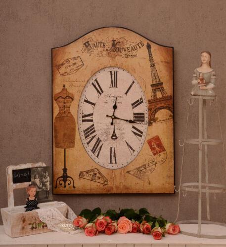 Wanduhr Französische Salon Uhr Vintage Dekoration Shabby Chic