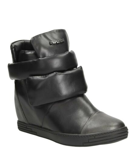 36-41 NEU Damen Sneakers Keilabsatz Sport Schuhe Freizeit Frühling//Herbst Gr