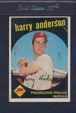 1959 Topps #085 Harry Anderson Phillies VG *140