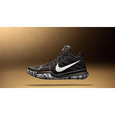 Nike Kyrie 3 BHM Black White Size 8. 852415-001 Lebron cavs finals mvp