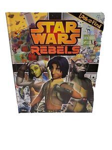 Star Wars Rebels Look And Find Book Skywalker Obi Wan Vader Galactic Empire