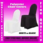 Polyester Wedding Event Chair Covers Party Stretch Banquet Folding Universal